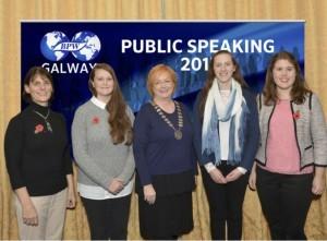 BPW Public Speaking Team 2015
