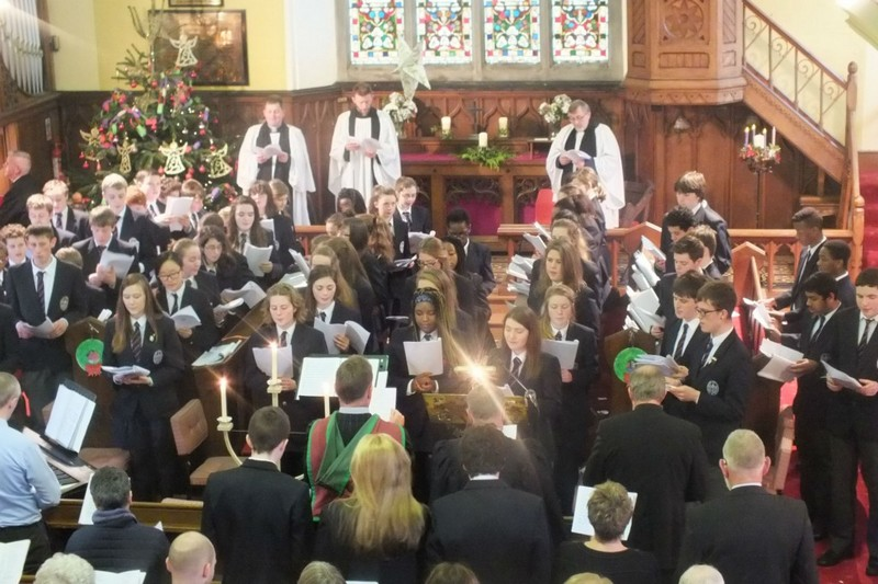 Carol Service held in Calry Church