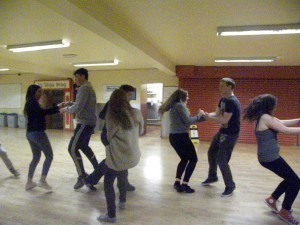 Irish Dancing at Coláiste Uisce