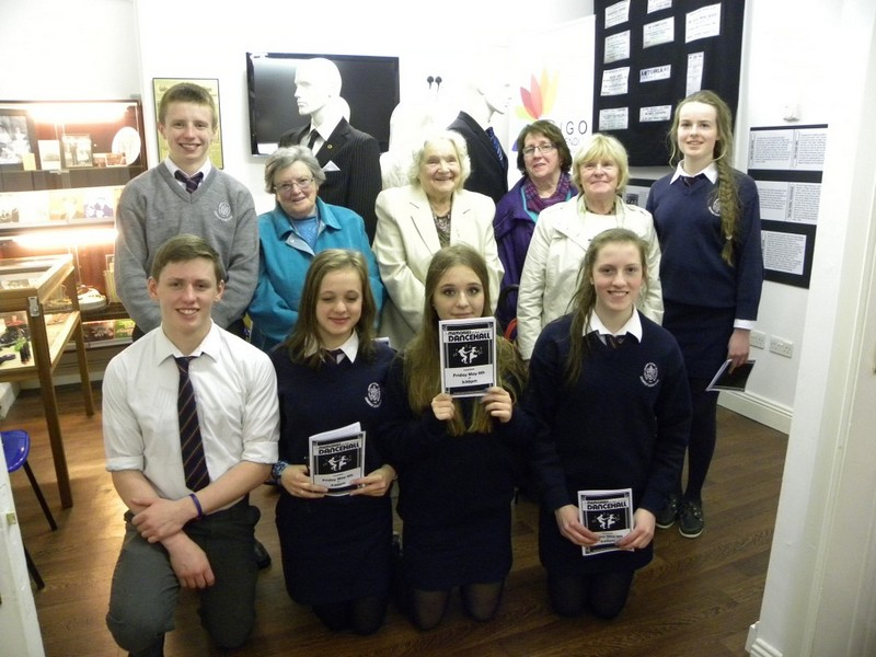 "TY students completed a History Research Project with Sligo Active Retirement Group called ""Memories of the Dancehall"""