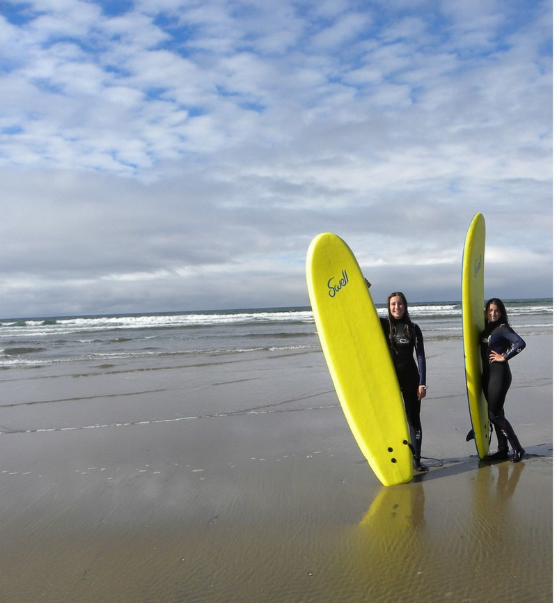 TY students get the opportunity to surf at Strandhill