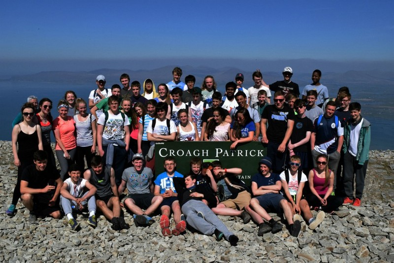 TY 2014/15 Geography field trip to Croagh Patrick