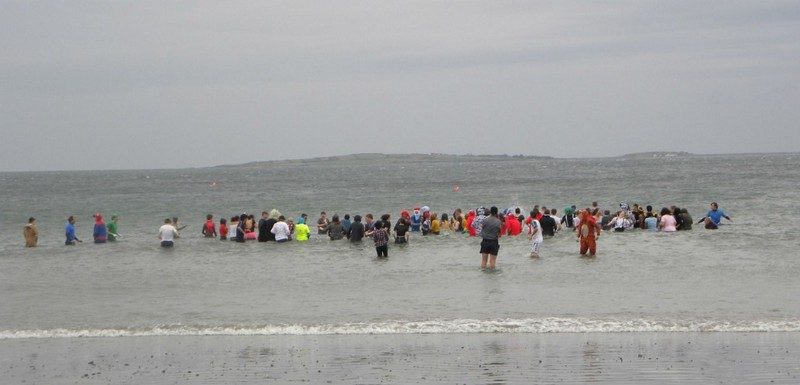 Sponsored Swim, Rosses Point