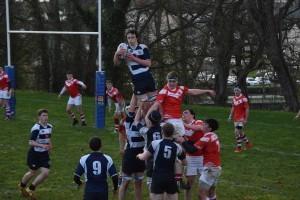 Sligo Grammar School Senior Rugby Team v St. Muredach's, Ballina