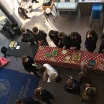 Cake sale arial view