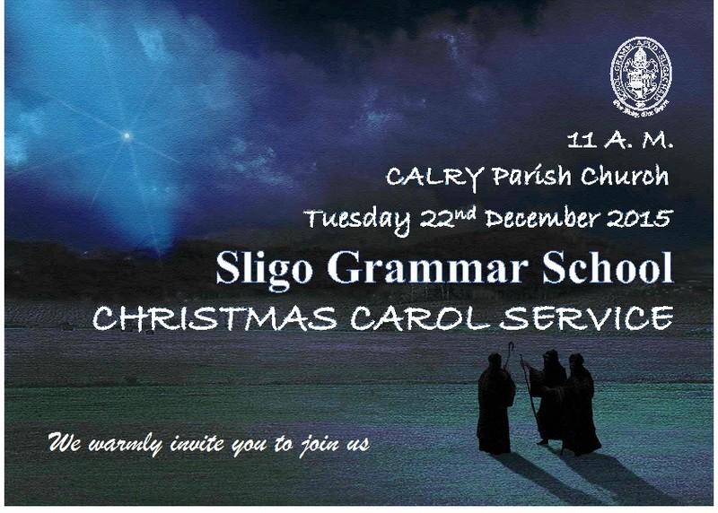 Sligo Grammar School Carol Service 2015
