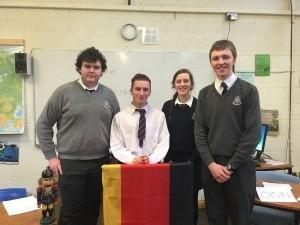 SGS German Debating Team.