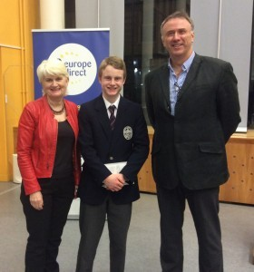 Rowan Kelleher who represented the Region at the Soapbox Public speaking competition.