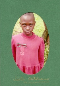 Victo, whose education in Uganda SGS sponsors