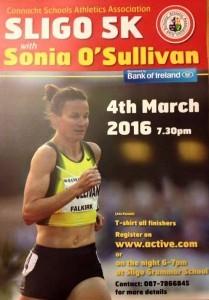 Sonia OSullivan and 5k run