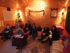Inside cabin Christmas 2015