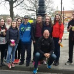 Germany students with T Cradock