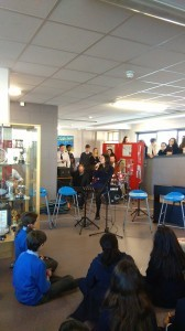 Throughout the year many concerts take place in the school reception.