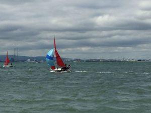 Sarah White Sailing 2