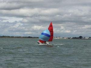 Sarah White sailing 1