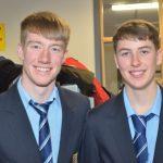 Repesentatives of Summerhill College Sligo, Shane Mooney and Tom Armstrong