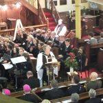 Rev. Noel Regan, chairman of the Board of Sligo Grammar School welcomes the congregation to the Sligo Grammar School Service of Remembrance and Reconciliation