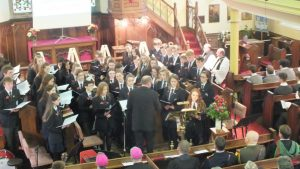 Sligo Grammar School Choir.