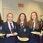Sligo Grammar School students Jenny O'Connell Jayne Feehilly Aenya Greene Sarah White and Niamh Kilroy