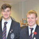 Sligo Grammar School students Niall Gray and Cian Whiteside