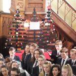 Carol service christmas trees