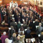 carol service cong and choir