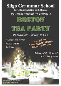 Boston Tea Party Poster