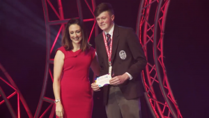 BT Young Scientist and Technology prizewinner, Paddy Bird third place prizewinner