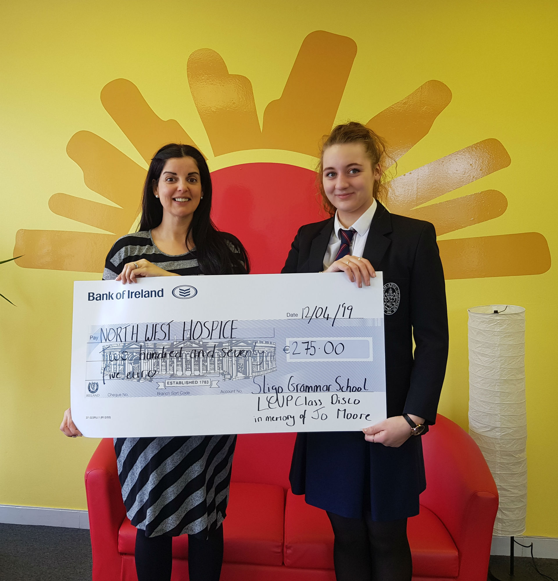 LCVP Raise Funds for NW Hospice